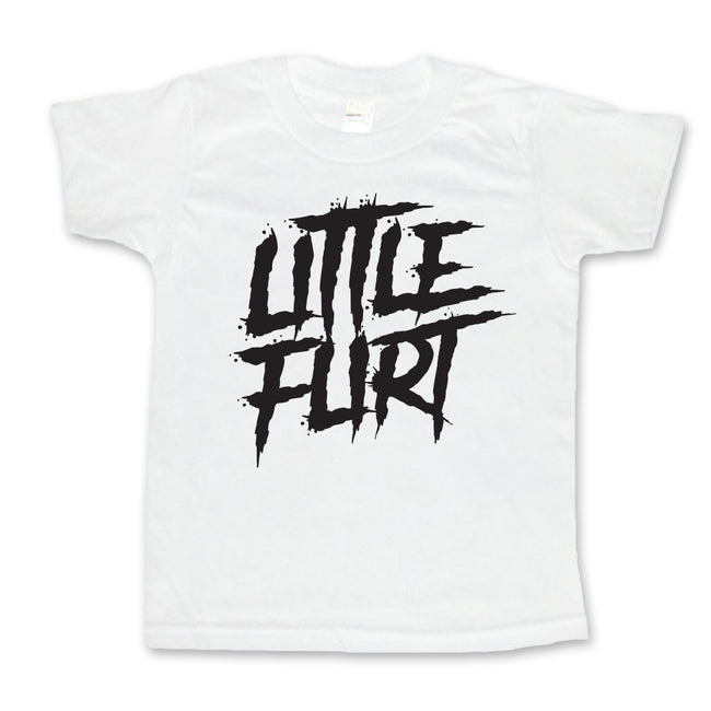 Little Flirt - Toddler or Kids Shirt-onesie-baby-Little Misfits-tattoo-sleeves-trendy-baby-clothes-for-boys-girls-toddler