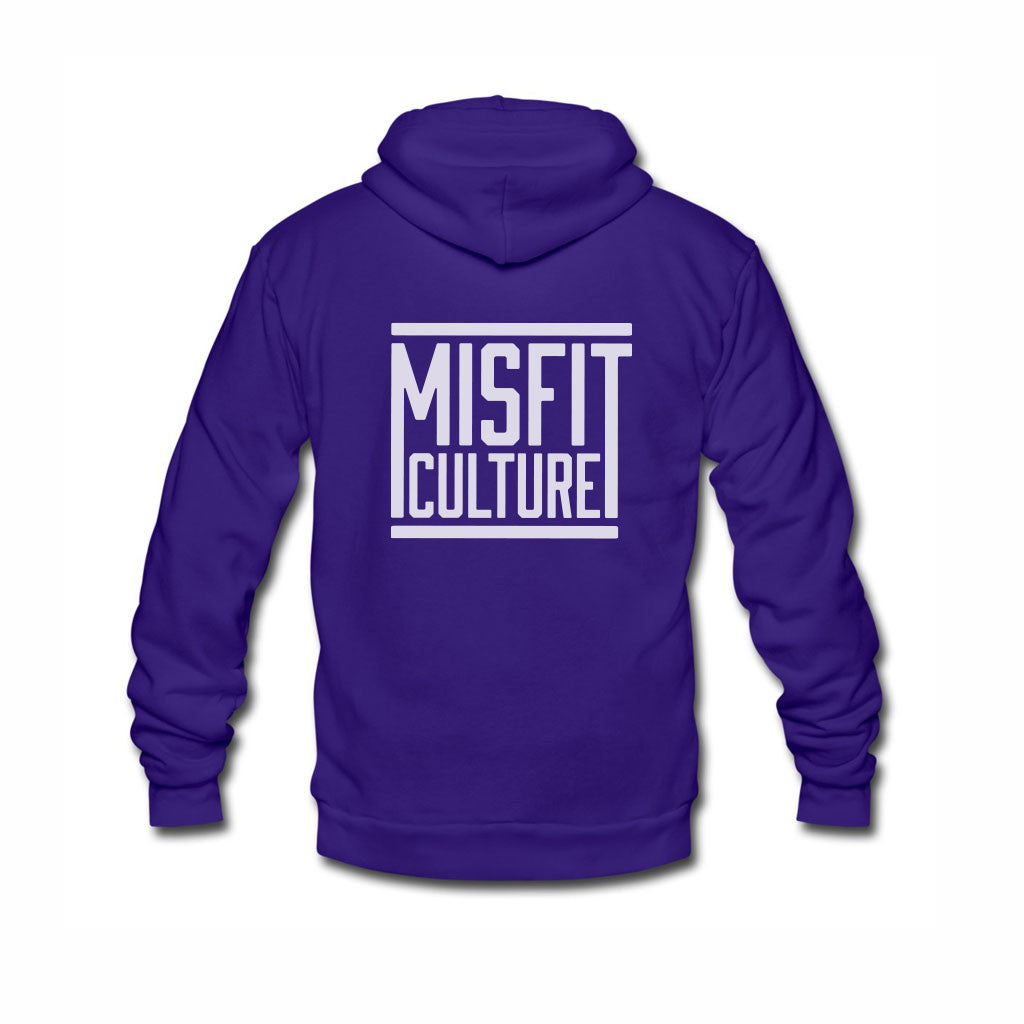 Misfit Culture Unisex Hoodie - Royal Blue-onesie-baby-Misfit Culture-tattoo-sleeves-trendy-baby-clothes-for-boys-girls-toddler