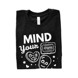 Mind Your Own Biscuits Adult T-Shirt-onesie-baby-Little Misfits-tattoo-sleeves-trendy-baby-clothes-for-boys-girls-toddler