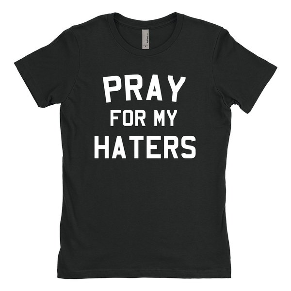 Pray for My Haters Adult T-Shirt-onesie-baby-Little Misfits-tattoo-sleeves-trendy-baby-clothes-for-boys-girls-toddler