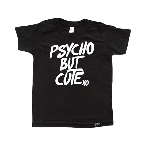 Psycho But Cute Tattoo Sleeve Toddler Tee-onesie-baby-Little Misfits-tattoo-sleeves-trendy-baby-clothes-for-boys-girls-toddler