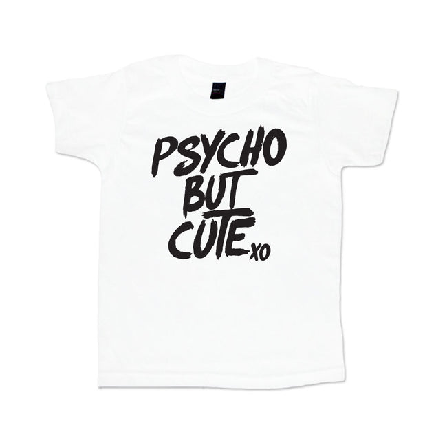 Psycho But Cute Youth Sleeve Youth Tee-onesie-baby-Little Misfits-tattoo-sleeves-trendy-baby-clothes-for-boys-girls-toddler