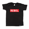 Rebel - Toddler or Kids Shirt-onesie-baby-Little Misfits-tattoo-sleeves-trendy-baby-clothes-for-boys-girls-toddler