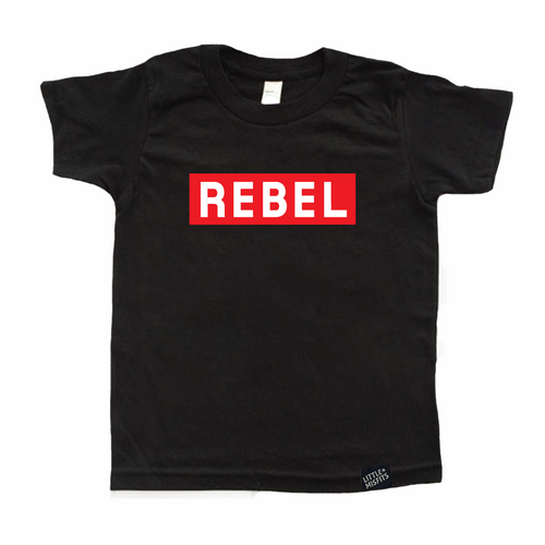 Rebel - Youth Shirt-onesie-baby-Little Misfits-tattoo-sleeves-trendy-baby-clothes-for-boys-girls-toddler