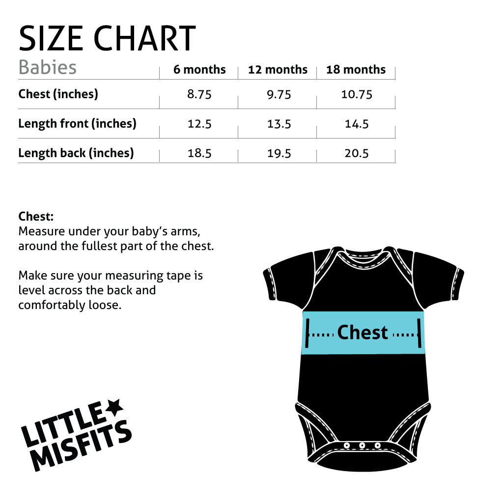 Scribbled Asterisk - Dear Jack Foundation (DJF)-onesie-baby-Little Misfits-tattoo-sleeves-trendy-baby-clothes-for-boys-girls-toddler