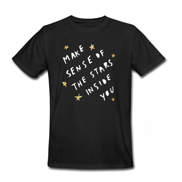 Stars Inside You, Glitter Edition - Dear Jack Foundation (DJF) - Men-onesie-baby-Misfit Culture-tattoo-sleeves-trendy-baby-clothes-for-boys-girls-toddler
