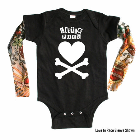 Guitar Creed - Tattoo Sleeve Onesie