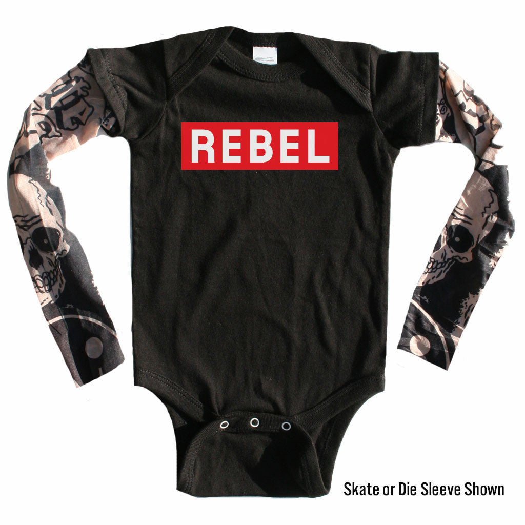 Tattoo Sleeve Onesie-onesie-baby-Little Misfits-tattoo-sleeves-trendy-baby-clothes-for-boys-girls-toddler