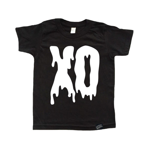 XO Tattoo Sleeve Youth Tee-onesie-baby-Little Misfits-tattoo-sleeves-trendy-baby-clothes-for-boys-girls-toddler