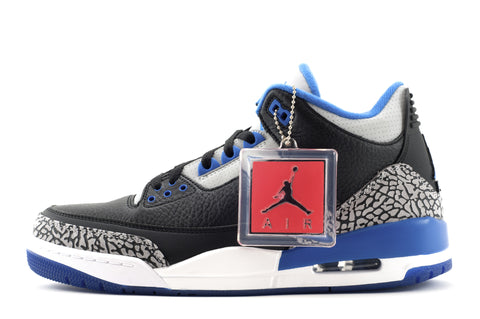 "Nike Air Jordan 3 Retro ""Sport Blue"""