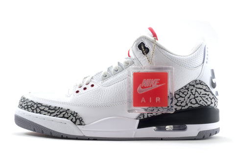 "Nike Air Jordan 3 Retro 88' ""White Cement"""