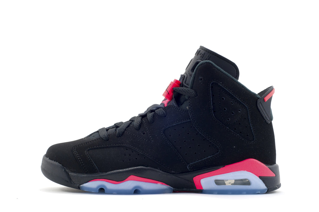 "Nike Air Jordan 6 Retro Kids (GS) ""Black Infrared"""