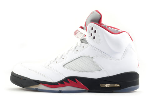 "Nike Air Jordan 5 Retro ""White Red Black"""
