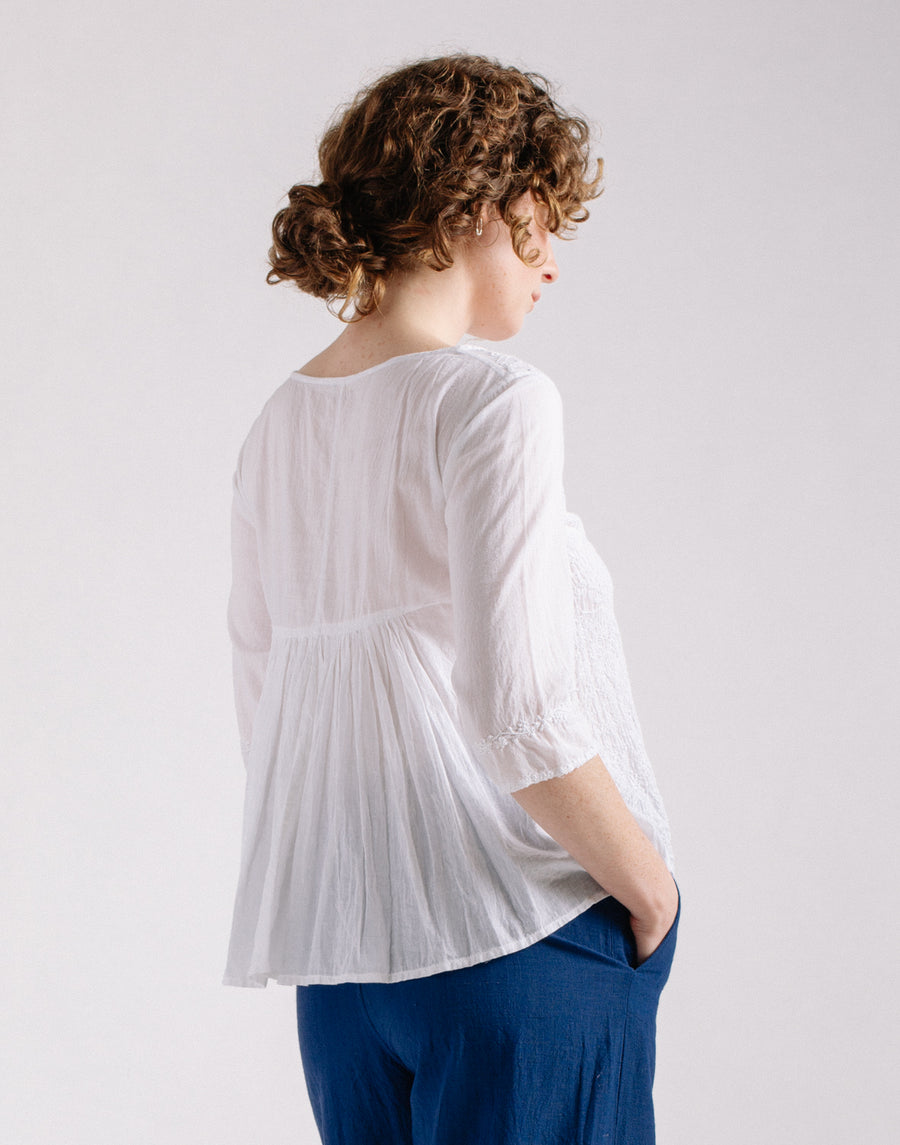 Sciara Hand Embroidered Top