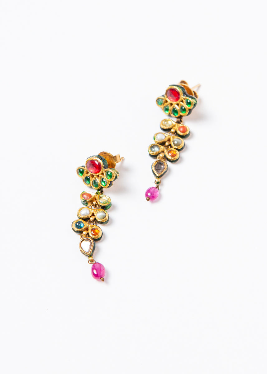 Navaratna Earrings #1