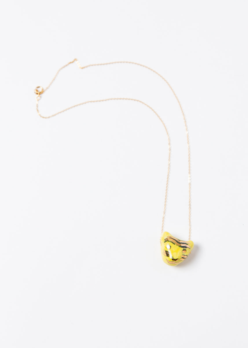 Tigre pendant - Yellow