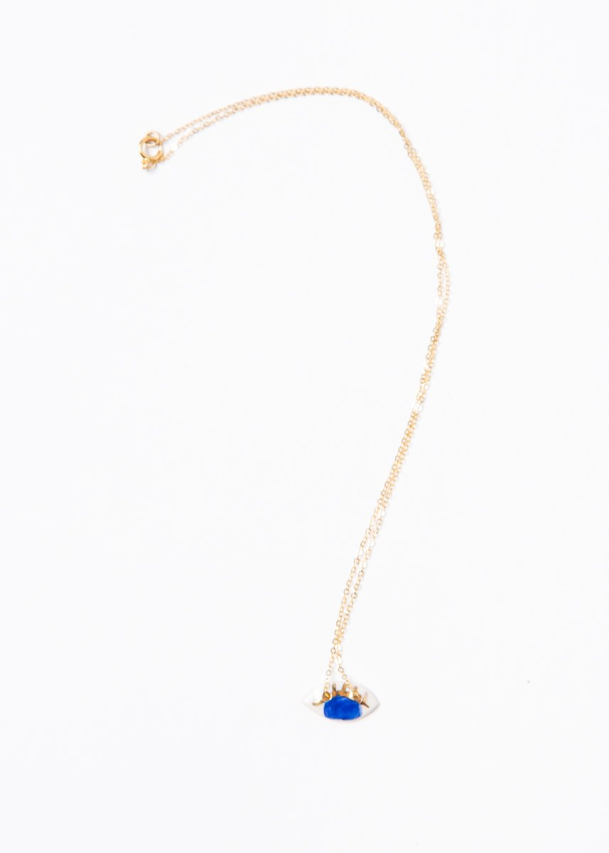 Occhi Necklace - Cobalt