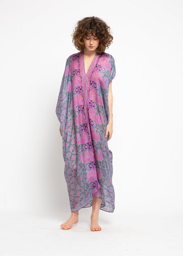 Fareeda Long Saree Kaftan