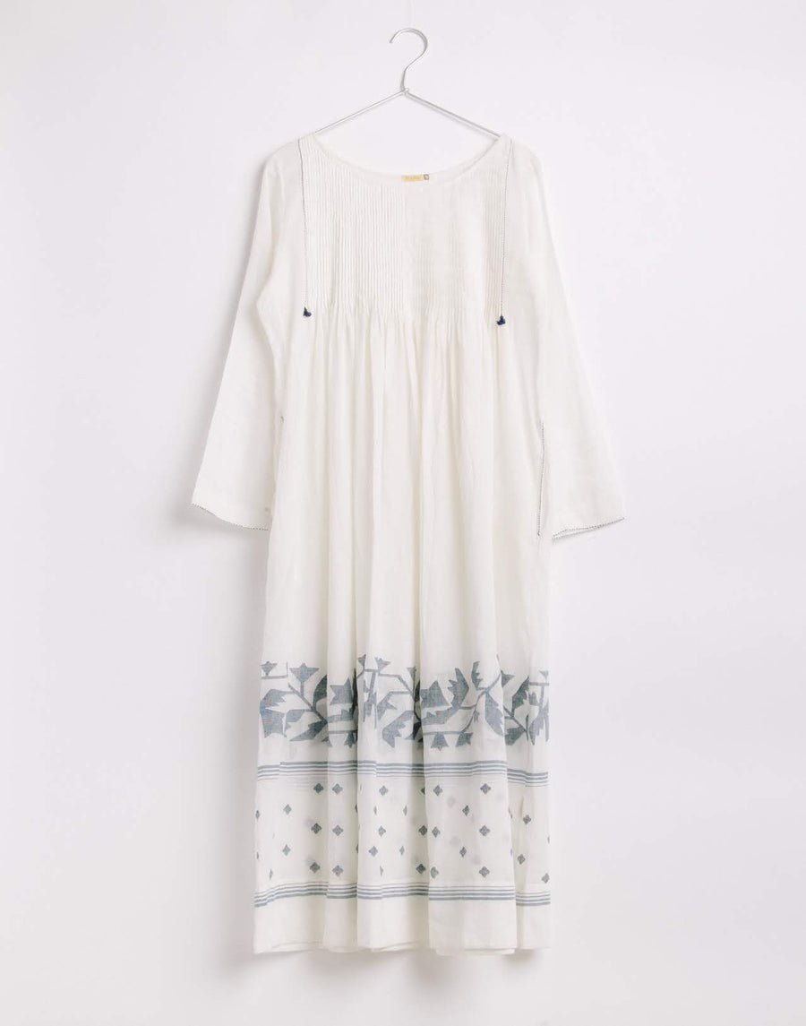 Kaljani Jamdani Dress