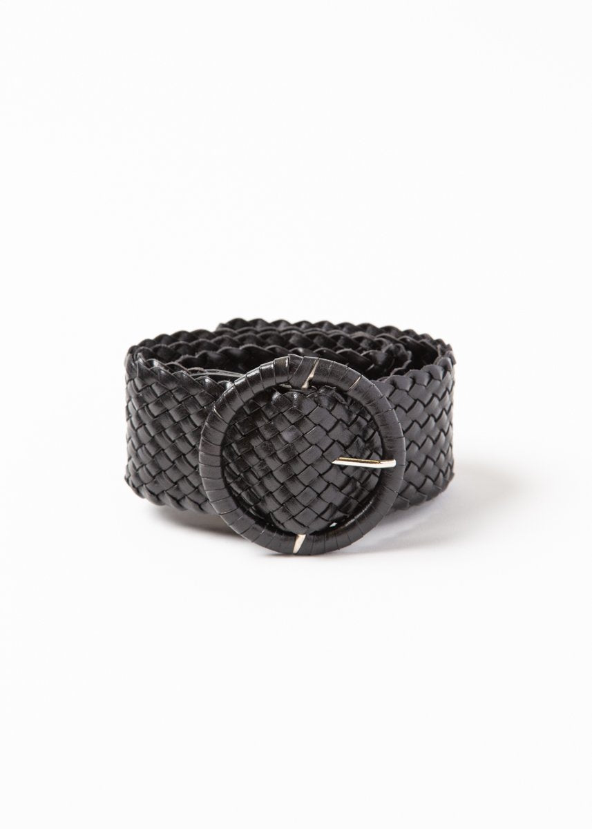 Dragon Woven Wide Belt
