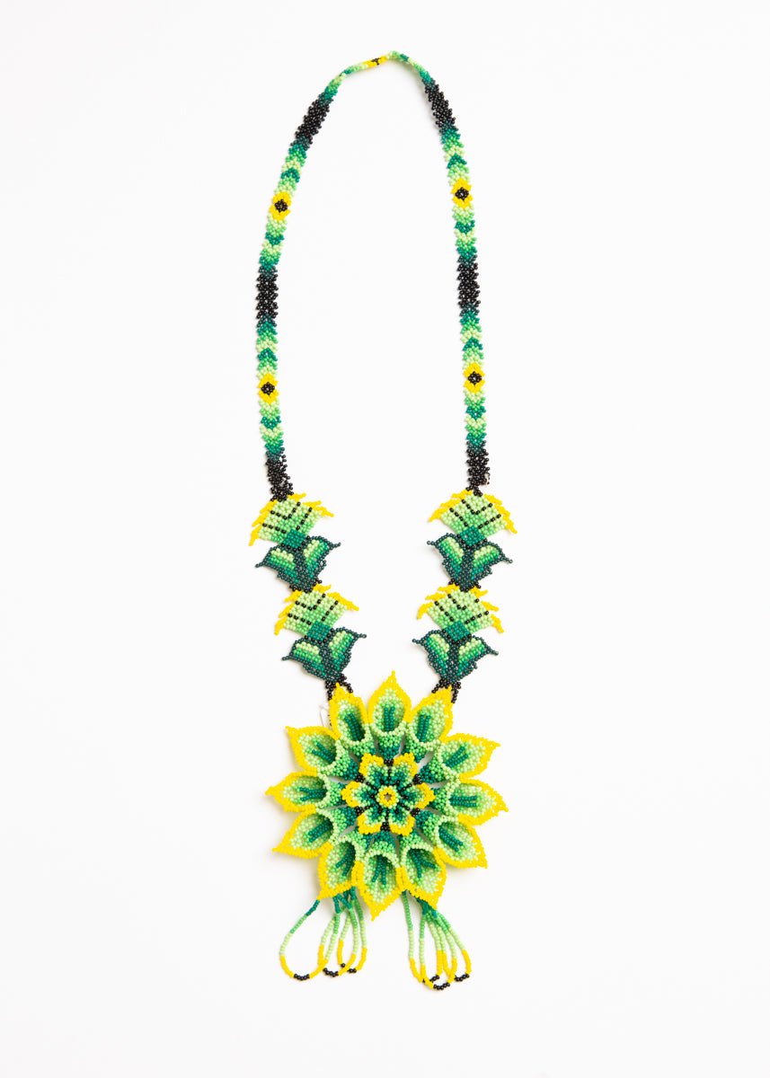 Huichol Peyote Necklace