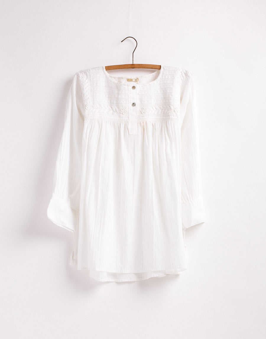 Consuelo Embroidered Top