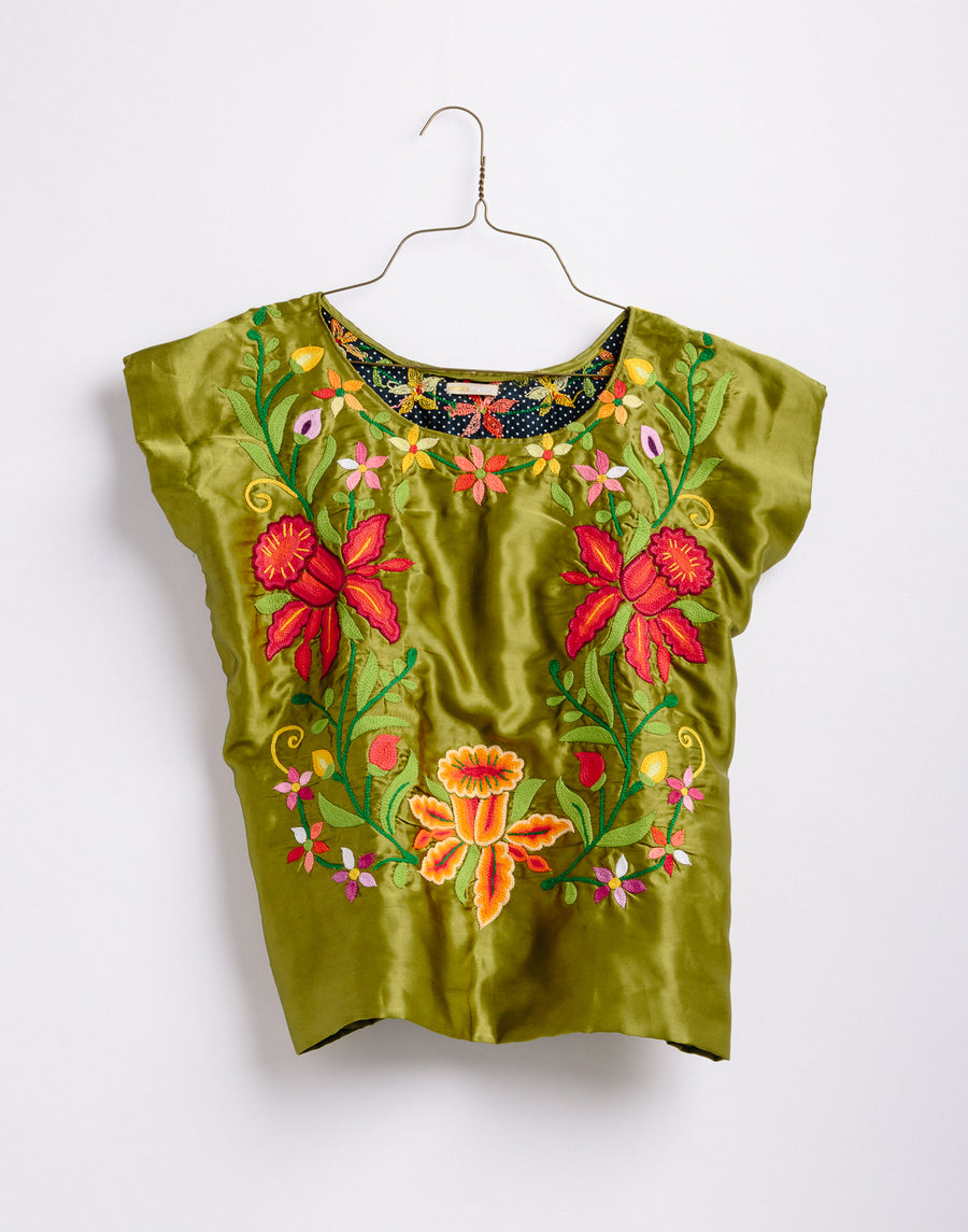 Juana  Embroidered Top