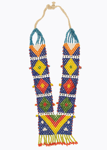 Kalbeliya Tribe Beaded Necklace #1