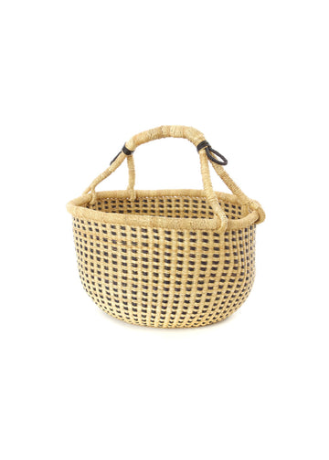 Swahili Black Dotter Bolga Basket