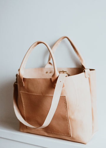 Luna Goods Craftsman's Tote Natural
