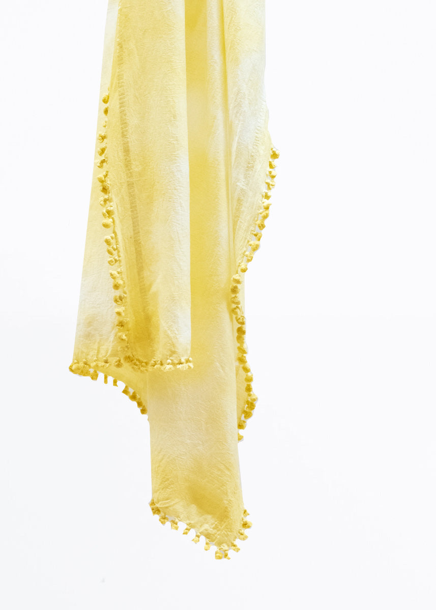 Dupatta Shawl Holi 2020, Yellow