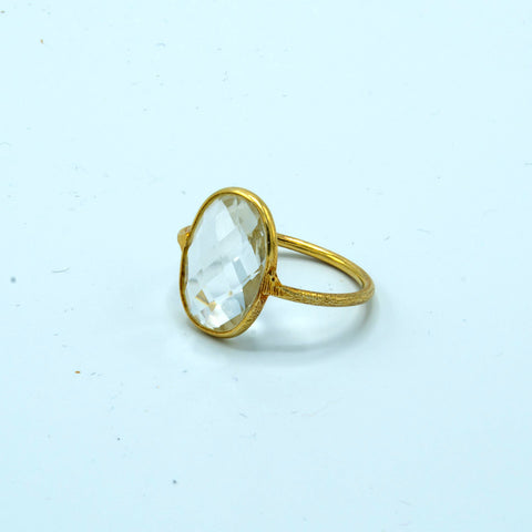 Large Gemstone Ring