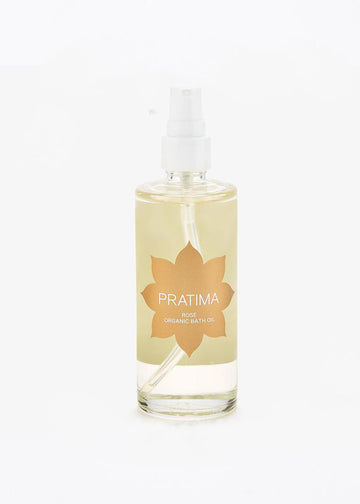 Pratima Organic Rose Bath Oil