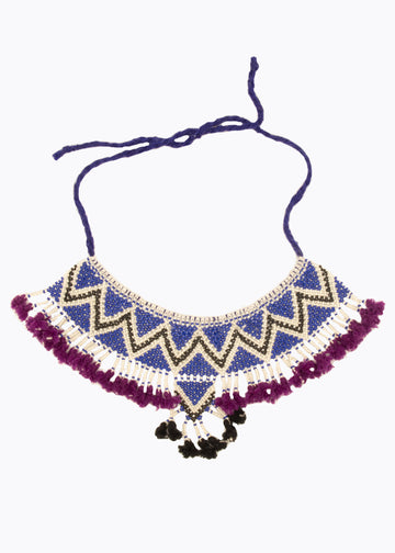 Rajasthan Beaded Necklace #1