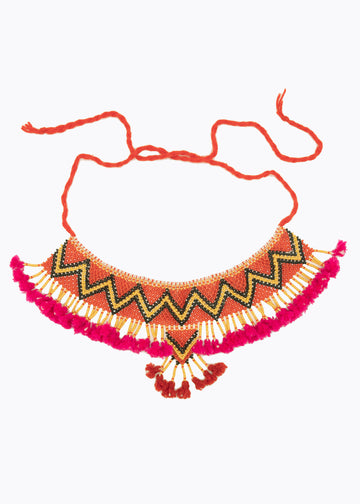 Rajasthan Beaded Necklace #4