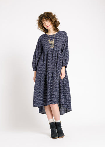 Lata Ikat Dress