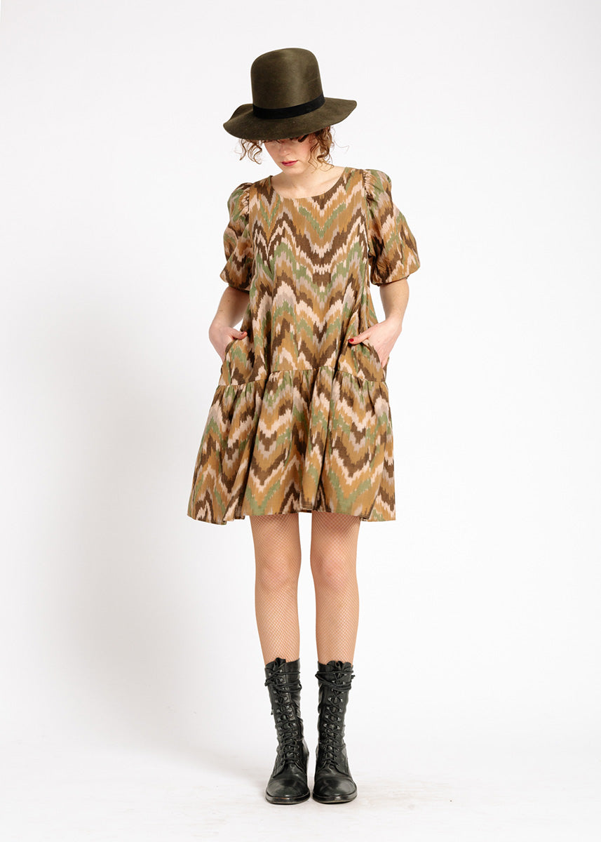Kenia Ikat Dress