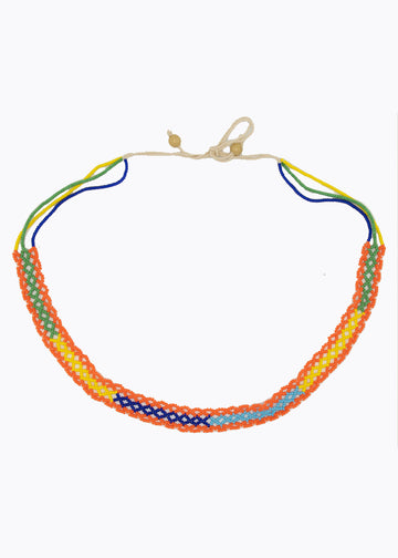 Naga Tribe Thin Beaded Necklace #1