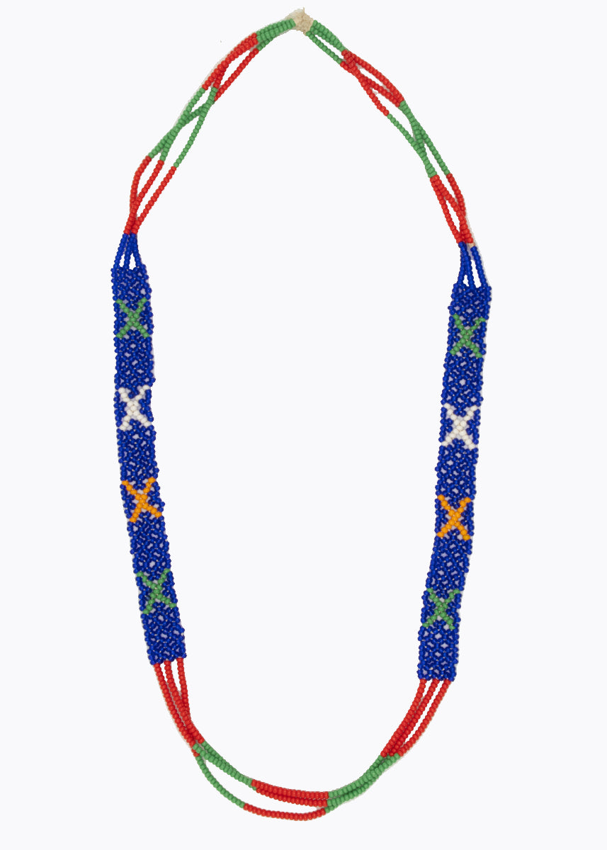 Naga Tribe Thin Beaded Necklace #2