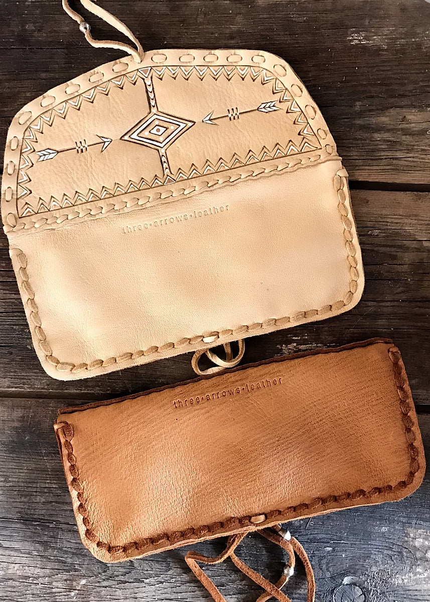 Three Arrows Thunder Pouch Wallet