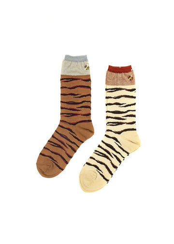 Antipast Tiger & Bee Mid Socks