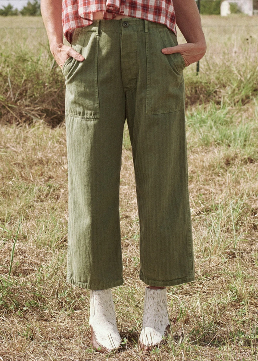 The Great Herringbone Trooper Pant