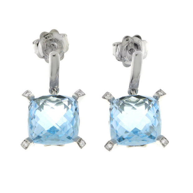 Chimento Iris 18k White Gold Earrings, , Earring, Chimento, D'Amore Jewelers