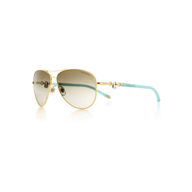 TIFFANY LOCKS Aviator Sunglasses