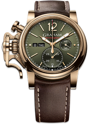 Graham Chronofighter Vintage BRONZE REF. 2CVAK.G02A