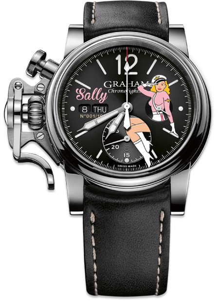 Graham Chronofighter Vintage Nose Art NOSE ART LTD Limited edition: 100 REF. 2CVAS.B21A