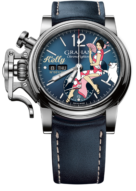 Graham Chronofighter Vintage Nose Art NOSE ART LTD Limited edition: 100 REF. 2CVAS.U08A