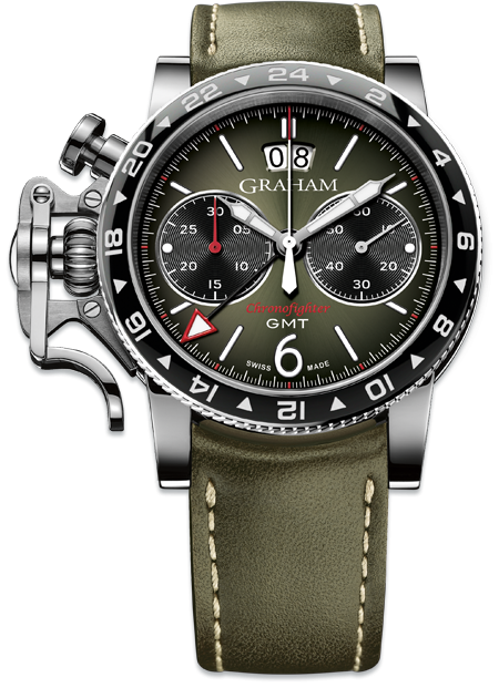 Graham Chronofighter Vintage GMT VINTAGE GMT REF. 2CVBC.G01A