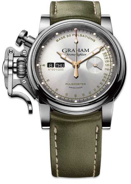 Graham Chronofighter Vintage Pulsometer PULSOMETER LTD Limited edition: 250 REF. 2CVCS.S01A