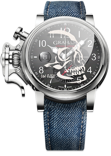 Graham Chronofighter Grand Vintage SKULL Limited edition: 50 REF. 2CVDS.B29D